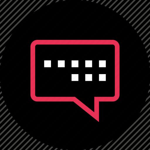 chat, messenger, talk icon