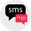 conversation, messenger, online, sms icon