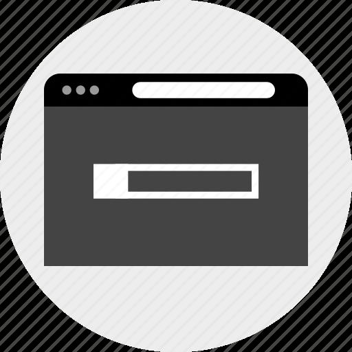 bar, search, web icon