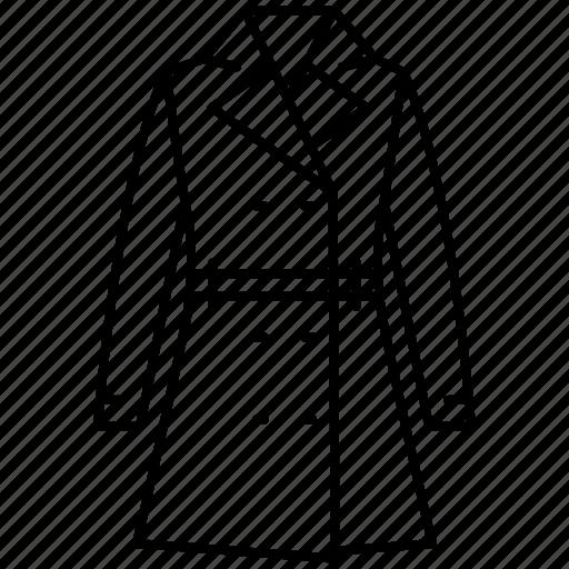clothes, coat, fashion, jacket, outerwear, shopping, women's icon