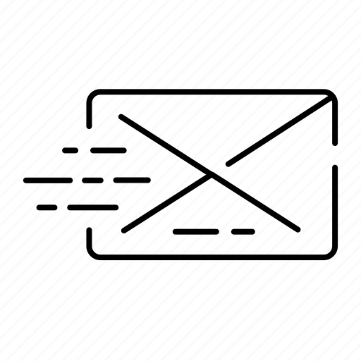 ecommerce, email, inbox, message, sending, shopping icon