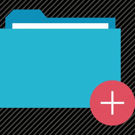 add, folder, more icon