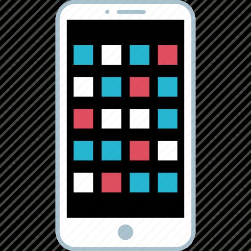 app, design, mobiel icon