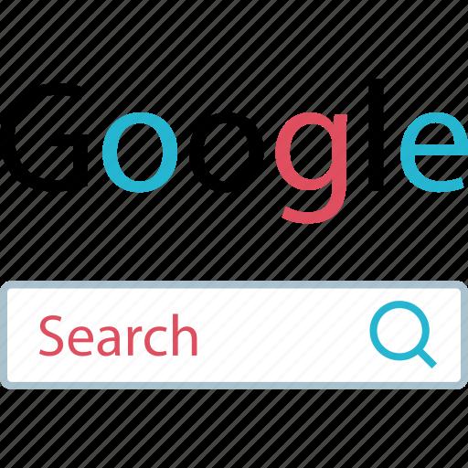 find, google, search icon