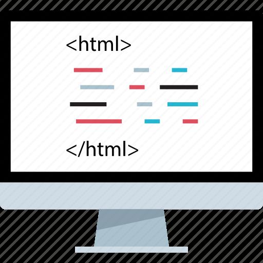 language, pc, script icon