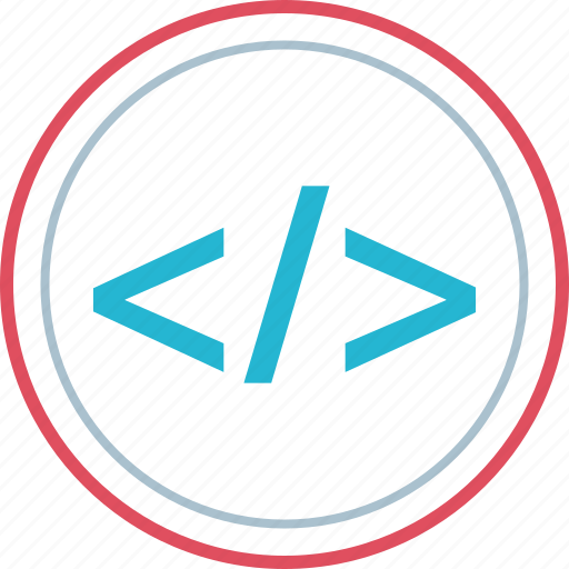 analytics, data, script, web icon