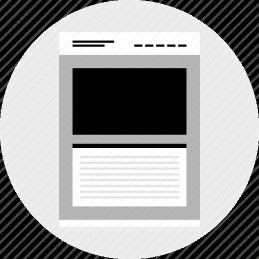 large, photo, website icon