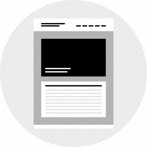 lines, links, mockup, website icon