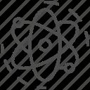 atom, laboratory, science