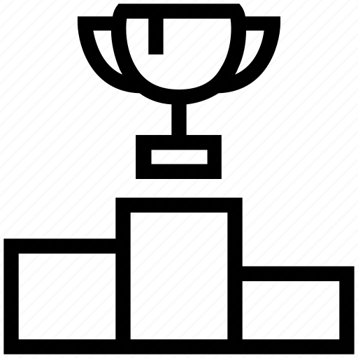 award, cup, education, position place, prize, rank, school icon