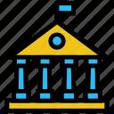 building, collage, education, school, university icon