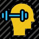 burble, education, fitness, head, mind