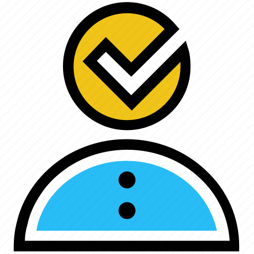 approved, education, mark, student, success, tick icon