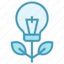 bulb, education, growth, idea, online education icon