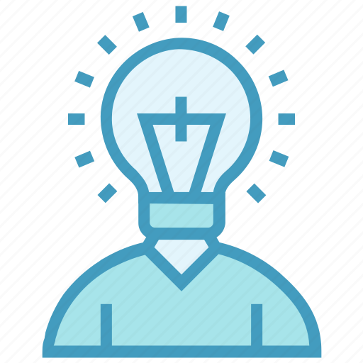 bulb, creative, education, idea, learn, student icon