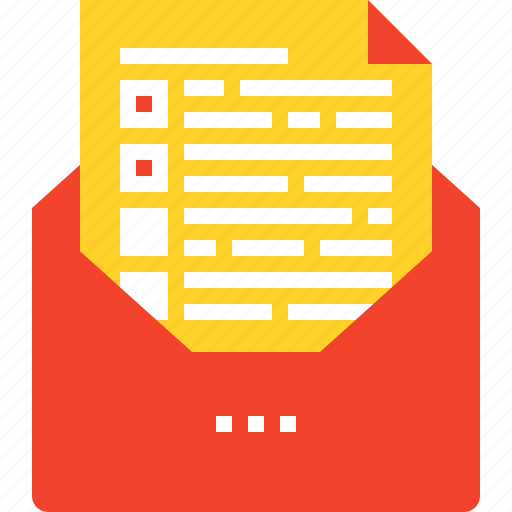 communication, email, envelope, letter, mail, online, test icon