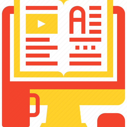 book, digital, ebook, education, electronic, knowledge, online icon