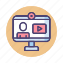 live, live recording, live streaming, online course, streaming, webinar