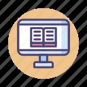 ebook, online, online reading, reading