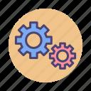 cog, development, gear, skill, skills, wheel
