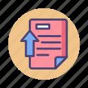 document, literature, upload