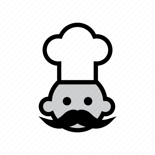 chef, delivery, food, fresh, menu, online, order icon