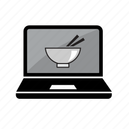 bowl, delivery, food, menu, online, order, take away icon