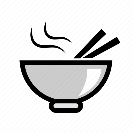 bowl, food, free delivery, fresh food, health, noodle bowl, online order icon