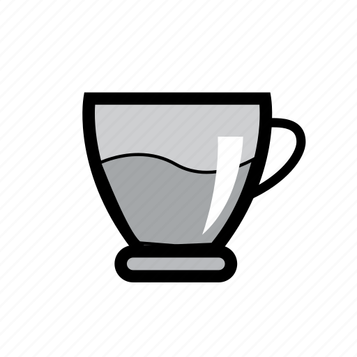 cup, drink, fresh food, glass, hot, online order, tea icon