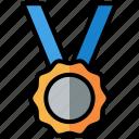 medal, award, winner, trophy