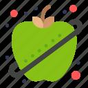 apple, fitness, fruit, healthy