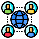 connection, global, meeting, network, worldwide