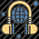 earphone, headphone, learning, online