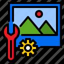 gear, optimization, optimize, tools, web icon