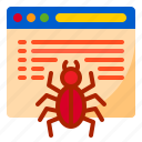 crawler, internet, page, seo, website icon