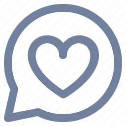 bookmark, bubble, favorite, heart, like, love, notification icon