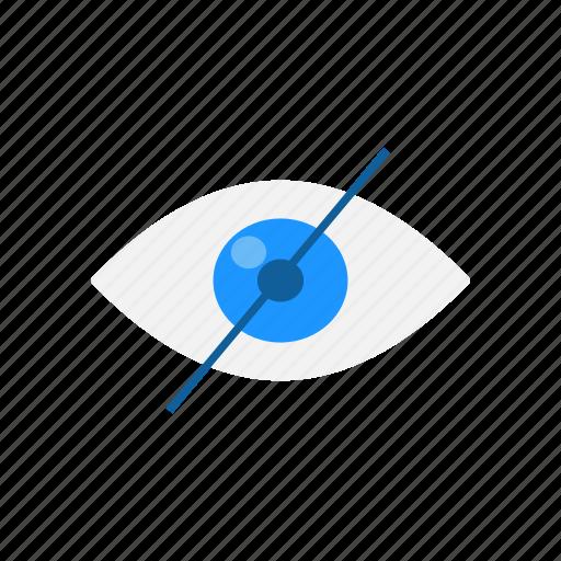 block, eye, hide, private icon