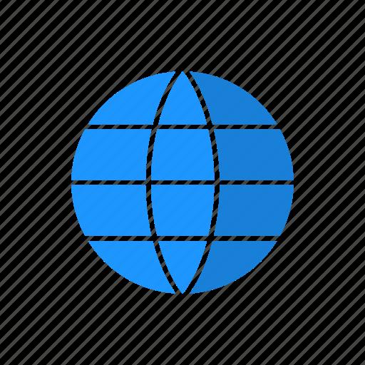 international, map, world, world man icon