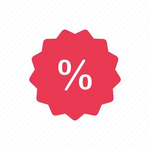 discount, percentage, price tag, tag icon