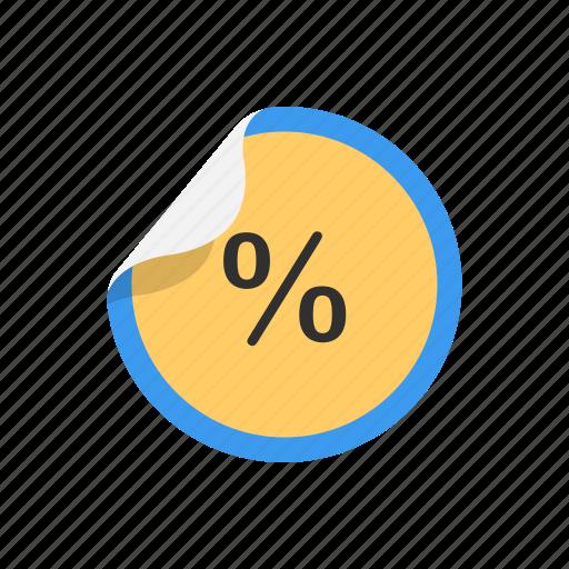 discount, no discount, percentage, sales icon