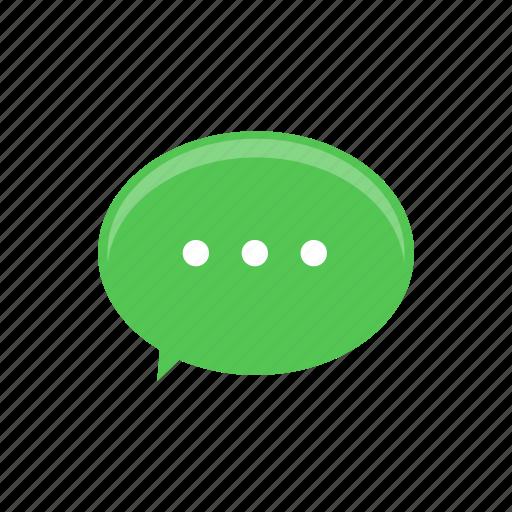 chat, conversation, inbox, message icon