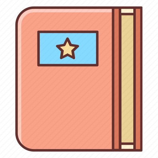 book, bookmark, bookmarking, bookmarking service icon