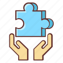 business, business solution, jigsaw, puzzle, puzzle piece, solution, solutions icon