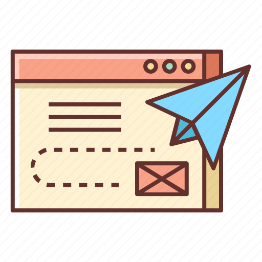 Content, delivery, contact form, content delivery, email, send email icon - Download on Iconfinder