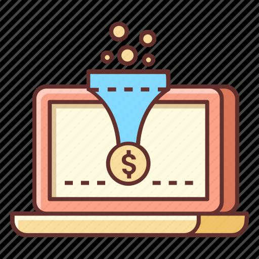 Conversion, optimization, filter, funnel, funnel hacking, sales funnel, seo icon - Download on Iconfinder