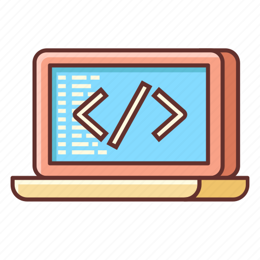 coding, custom, custom coding, programming, web development icon