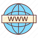 domain, authority, world wide web, www, domain authority, internet icon
