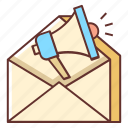 edm, electronic direct mail, email, email marketing, marketing, subscribe icon