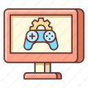 development, game, game design, game development icon