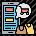 catalogs, choice, electronics, list, selection icon
